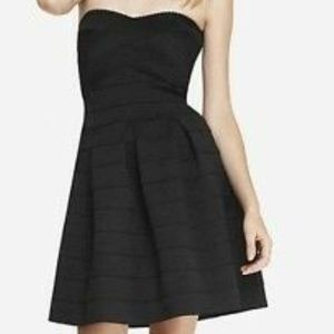 Finesse Strapless Fit & Flare Mini Dress Large